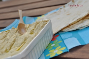 houmous de La table de Liz