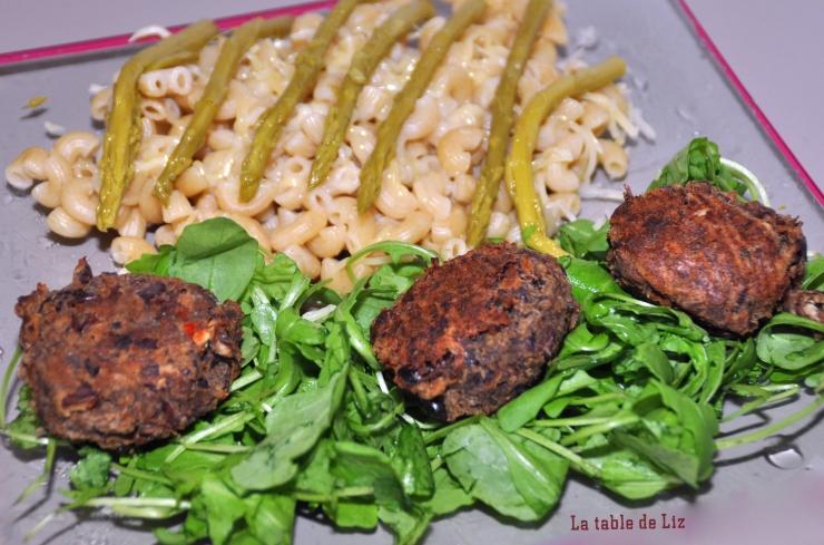 Boulette de haricots azuki à l'orientale de La-table-deLiz