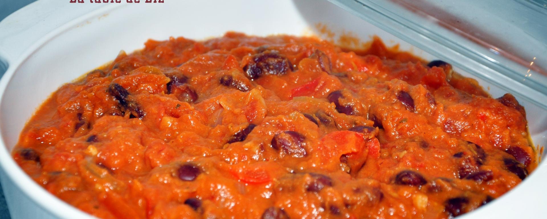 Chili de haricots rouge et citrouille de La-table-de-Liz