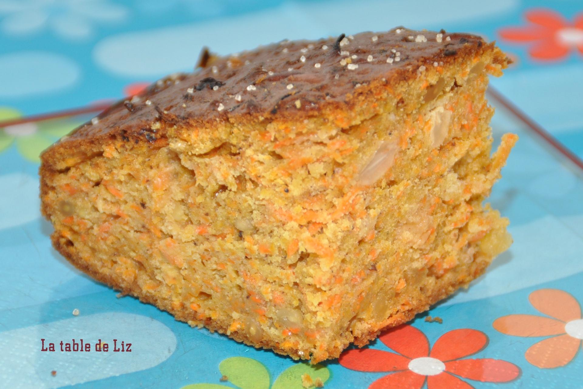Carrot cake La-table-de-Liz