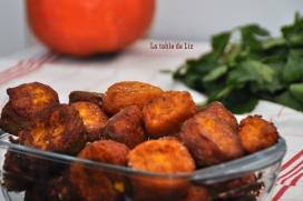 Pommes dauphines de potimarron