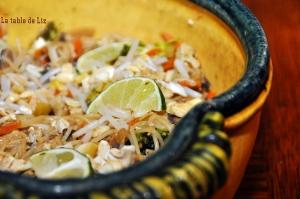 Pad thai végétarien façon Liz