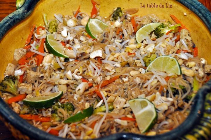 Pad thaï végétarien façon Liz