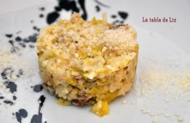 Risotto aux poireaux de La-table-de-Liz