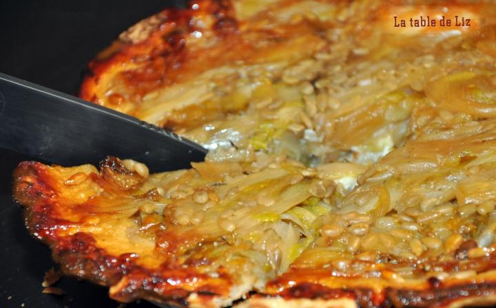 Tatin d'endives recette végétarienne de La Table de Liz
