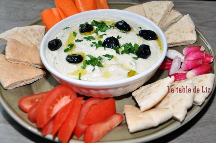 Aubergines au tahin (Baba Ghanoush) recette végétarienne de La-table-de-Liz