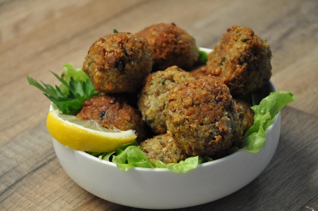 Falafels pois chiches et fèves, recette végétarienne de La Table de Liz