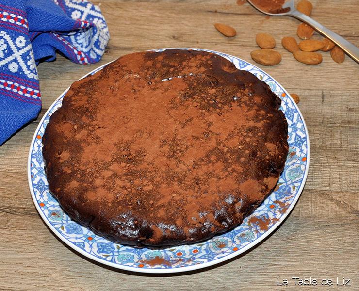 Brownie au chocolat comme un riz au lait, recette sans gluten de La Table de Liz